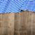 rustiek · houten · Blauw · tafelkleed · hout - stockfoto © zerbor