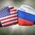 a boxing match between the usa and russia stock photo © zerbor