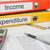 mappák · iratok · boglya · színes · akta · papírok - stock fotó © zerbor