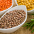 different types of lentils in bowls stock photo © zerbor