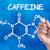 кофеин · белый · кофе · лаборатория · химии · химического - Сток-фото © zerbor