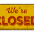 vintage rusty metal sign on a white background   we are closed stock photo © zerbor