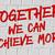 することができます · メッセージ · 激励 · 霊感 · にログイン · 成功した - ストックフォト © zerbor