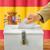 votação · cédula · caixa · mão · fundo - foto stock © zerbor
