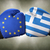 a boxing match between the european union and greece stock photo © zerbor