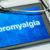 tablet with the diagnosis fibromyalgia on the display stock photo © zerbor