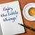 amor · mensaje · escritorio · café · papel · fondo - foto stock © zerbor