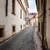 улице · фонарь · Прага · тень · желтый · стены - Сток-фото © zhukow