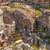 endommagé · pagode · ruines · tremblement · de · terre · rivière · brique - photo stock © zhukow