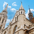 católico · igreja · agora · ortodoxo · edifício · pôr · do · sol - foto stock © zhukow