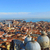 st marks cathedral in venice from above with city roofs stock photo © zhukow