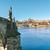 köprü · Prag · Çek · Cumhuriyeti · towers · gün · batımı - stok fotoğraf © zhukow