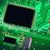 macro · foto · elektronische · circuit · verlichting · symbool - stockfoto © zhukow