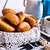 Croissants in a basket stock photo © zia_shusha