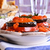 a · la · parrilla · berenjena · tomate · mozzarella · queso · cena - foto stock © zia_shusha