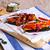 aubergine · groenten · half · diner · tomaat - stockfoto © zia_shusha