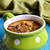 soup with small pasta vegetables and croutons stock photo © zia_shusha