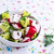 fraîches · printemps · salade · concombre · radis · poivrons - photo stock © zia_shusha