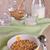 granola · cereales · a · rayas · placa · superficie - foto stock © zia_shusha