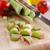 olgun · domates · bıçak · tablo · meyve - stok fotoğraf © zia_shusha