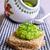 sándwich · verde · patatas · pan · brindis · desayuno - foto stock © zia_shusha