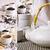 collage · Photos · noir · thé · céramique - photo stock © zia_shusha