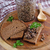 sandviç · mantar · peynir · plaka · arka · plan · ekmek - stok fotoğraf © zia_shusha