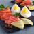 salmone · rosso · pesce · servito - foto d'archivio © zia_shusha