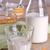 gabonapehely · étel · tej · üveg · üveg · fából · készült - stock fotó © zia_shusha