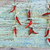 The background of the old boards and red pepper stock photo © zia_shusha