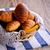 pão · cesta · raso · comida · saúde · almoço - foto stock © zia_shusha