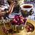 aszalt · rózsa · fém · csésze · edények · távolkeleti - stock fotó © zia_shusha