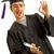 egyetemi · hallgató · portré · érettségi · nap · vonzó · délkelet - stock fotó © zittto