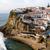 panorama · praia · cidade · vermelho · onda · europa - foto stock © zittto