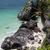 caribbean · strand · Mexico · ruines · hemel · water - stockfoto © zittto