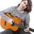 genç · müzisyen · akustik · gitar · dramatik · aydınlatma · ışık - stok fotoğraf © zittto