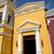 古い · 黄色 · コロニアル · 教会 · 美しい · 青空 - ストックフォト © zittto