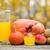 választék · friss · gyümölcsök · diók · egészséges · étkezés · készít - stock fotó © zittto