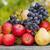 olgun · elma · meyve · eski · ahşap · masa · tuval - stok fotoğraf © zittto