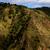 belo · nuvens · céu · acima · verde · montanha - foto stock © zittto