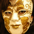 美しい · 純正 · 女性 · 黒 · マスク · 羽毛 - ストックフォト © zittto