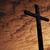 крест · закат · Пасху · фон · красный · мира - Сток-фото © zittto
