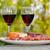 queijo · vinho · tinto · rural · comida · vinho · vidro - foto stock © zittto