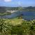 dumanlı · sis · göl · kuzey · Portekiz · güzellik · dağlar - stok fotoğraf © zittto