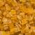 geglaceerd · citrus · schil · metaal · lepel · witte · achtergrond - stockfoto © zkruger