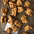 rustic popcorn fried chicken nugget stock photo © zkruger