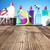 produktów · czyszczących · kolorowy · zestaw · inny · drewniany · stół · niebieski - zdjęcia stock © zolnierek