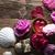 estância · termal · rosas · corações · mesa · de · madeira · saúde - foto stock © zolnierek