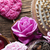 spa · rozen · harten · houten · tafel · hart - stockfoto © zolnierek