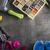 fitness · objecten · voeding · steen · vloer · sport - stockfoto © zolnierek